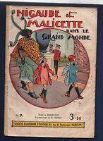Nigaude et Malicette dans le grand Monde. SPE 1933. Bel état - GIFFEY
