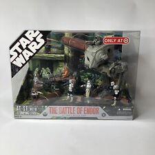 Star Wars Battle of Endor Ultimate Battle Pack 2007 Target Exclusive 30th Ewok