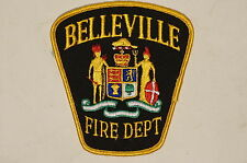 Canadian Ontario Belleville Fire Department Patch