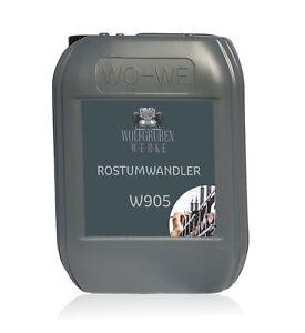 Rostumwandler Rostentferner Rostschutz Rostlöser Entroster Grundierung W905 - 5L
