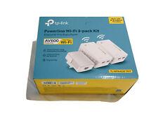 TP-LINK AV600 Powerline Universal Wi-Fi Range Extender - TL-WPA4220T KIT