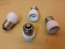 Lot de 2 adaptateurs douille E27 - GU10 ampoule culot