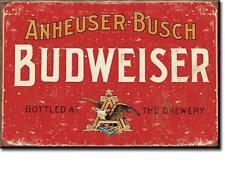 Budweiser Bier Vintage Design USA Bar Werbung Magnet Magnetschild