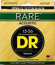 DR RPMH-13 Rare Acoustic Guitar Strings Med/Hvy gauges 13-56