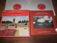 SLS 897 SHOSTAKOVICH: SYMPHONY No. 7 'Leningrad'  BERGLUND / BSO  2LP  NM  TAS