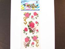 Temporary Tatto - Rose Flower (7 x 3.5)