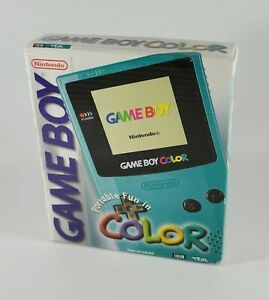 Nintendo Game Boy Color Console (Teal) ~ Brand New in Sealed Box!
