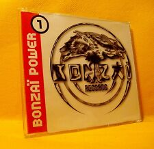 MAXI Single CD BONZAI POWER 1 4TR 1995 RETRO BONZAI RECORDS Hardcore Hard Trance