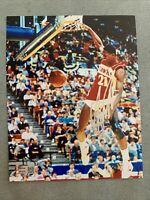 Dominique Wilkins Hand Signed Autographed 8x10 Picture Photo w/ Tristar COA