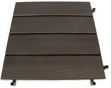 Plastic Dark brown Clip Together Decking Anti Slip Paving Slabs No Tools Needed