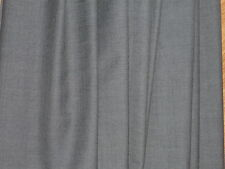 WOOL/COTTON X-DYED SUITING- GREY/BLACK -DRESS FABRIC-FREE P&P