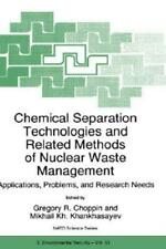 Chemical Separation Technologies And Related Methods Of Nuclear Waste Manag...