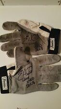 Eric Hinske Dual Autographed Signed Game Worn Used Batting Gloves W LOA & Photo