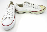Converse Shoes Chuck Taylor Ox All Star White/Red Sneakers Men 5.5 Womens 7.5