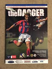Dagenham & Redb  v Hereford United - F.A.Cup 1st Rnd Replay 2008/09 Programme