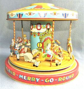 PLAYLAND MERRY-GO-ROUND 1930's UNITED STATES by J CHEIN Co.