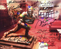 11 HEISMAN WINNERS  Signed Autographed 8x10 photo Reprint