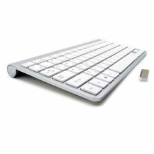 Keyboard 2.4G Wireless Ultra-Thin Mute For Mac Win XP 10 Russian Spanish French