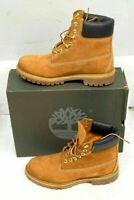 """Timberland Women's 6"""" Premium Waterproof Boot, Wheat Nubuck, 7.5 M US"""
