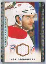 2014-15 UPPER DECK MASTERPIECES MAX PACIORETTY JERSEY 1 COLOR MONTREAL CANADIENS