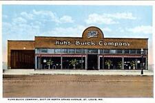 Logan Square Buick Auto Dealership Illinois Chicago ca 1966 Photo