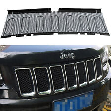 3D Mesh Front Prevent Bug Grille Grill Insert For Jeep Grand Cherokee 2011-13