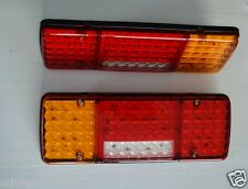 2x 12V LED Rear Combination Light Tail Stop Indicator Fog Reverse Lamp for IVECO