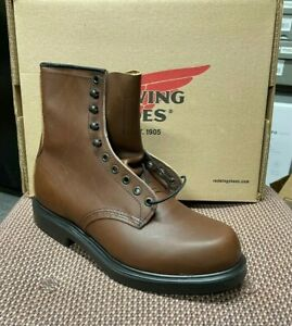 """100% AUTHENTIC RED WING 953 8"""" WORK BOOTS NEW IN BOX MADE IN USA"""