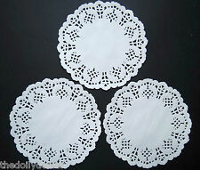 MARI 11cm PAPER LACE DOILIES X 20 AS SEEN ON CREATE AND CRAFT TV
