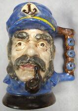 Vintage Nautical Sea Captain Skipper Stein Mug