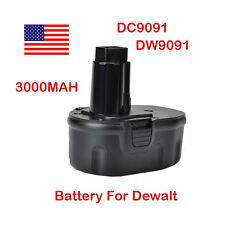 Extended 3.0AH 14.4V DC9091 DW9091 DW9094 Battery for DEWALT 14.4 Volt Tools