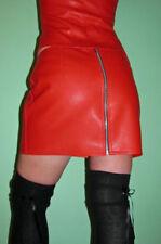 Gonne e minigonne da donna rossi corto, mini fantasia nessuna fantasia
