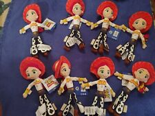 Toy Story Plush Jessie Dolls - Lot of 8