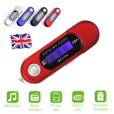 32GB MP3 USB MUSIC PLAYER WITH LCD SCREEN FM RADIO VOICE RECORDER TF CARD