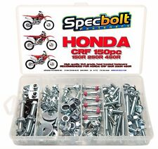 Honda CRF 150pc Bolt Kit CRF150R CRF250R CRF450R Body Frame Motor Rotors Seat
