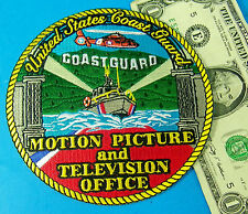 "U. S. COAST GUARD PATCH, USCG ""HOLLYWOOD"" MOTION PICTURE & TELEVISION OFFICE #AO"
