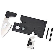 10 in 1 Credit Card Wallet Multifunctional Camping Pocket Tool