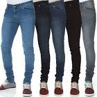 Criminal justice Mens Designer Branded Stretch Super Skinny Fit Jeans, BNWT