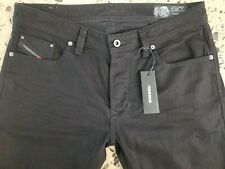 DIESEL jeans for men NWT style LARKEE black stretch size 34 x 32