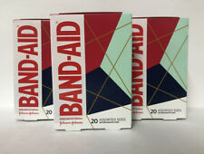 (3) Band-Aid Adhesive Bandages-20ct. Each-Assorted Sizes