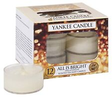 Yankee Candle Tea Lights All IS Bright Candela profumata profumazione ambiente