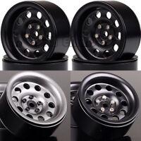 """4PCS Metal 2.2"""" Beadlock Wheels RIMS 2024 For RC 1/10 Crawler Traxxas Axial"""