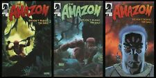 The Amazon Comic Set 1-2-3 Lot Jungle Remastered Edition Steven Seagle Tim Sale