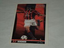 MILAN CALCIO-CARTOLINA FORZA MILAN 2003/2004 CALCIATORE SERGINHO CM. 10X15