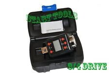 "3/4"" Dr. Digital Torque Wrench Adaptor Micro Meter Unit LED 738 f/lb Microtorque"