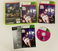 Kane and Lynch 2 Dog Days - Limited Edition Xbox 360 - VGC - Complete -