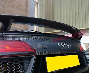 Audi R8 Gen 2 Carbon Fibre Rear Boot Panel - 2016+ R8 4S - carbon Tailgate