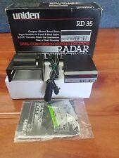 New listing Vintage Uniden Rd35 Radar Detector w/Visor Clip