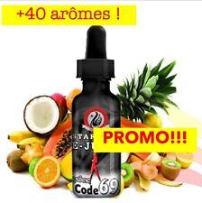 E-liquide 50ml Cigarette Electronique +40arômes Fruit Gourmand Menthe Pas Chers