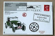 Montagu MOTORE Museo Monte Carlo Rally 1970 Copertura dover & MONACO handstamps